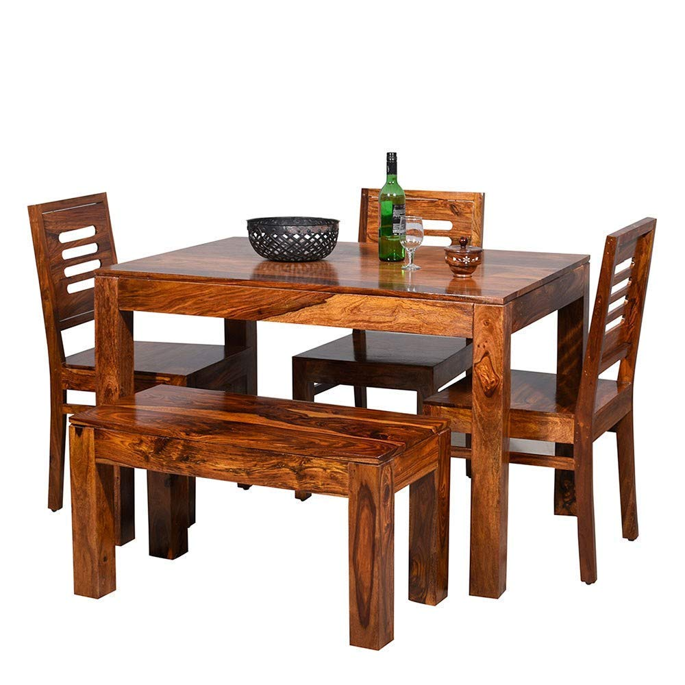 wooden eating tables