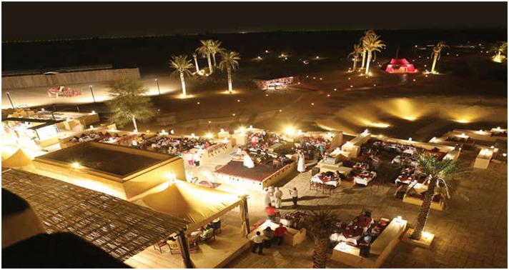 Desert escape in United Arab Emirates